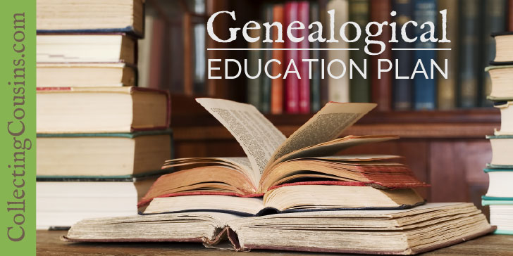 Mary Ann's Genealogical Education Plan