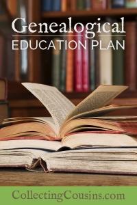 Mary Ann's Genealogical Education Plan