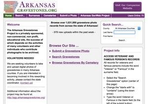 Arkansas Gravestones