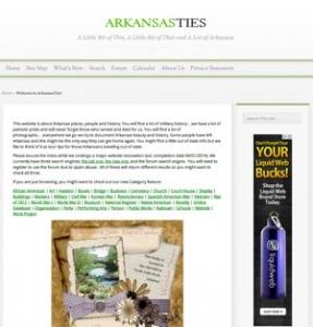 Arkansas Ties