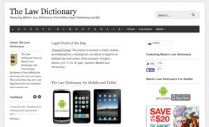 Black's Law Dictionary Online