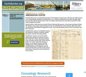 CastleGarden.org