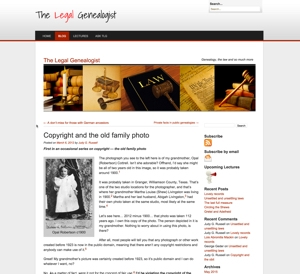 Copyright and the Old Family Photo
