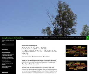 Google Earth for Genealogy and Historical Maps