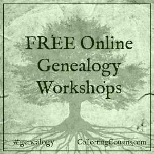 FREE Online Genealogy Workshops