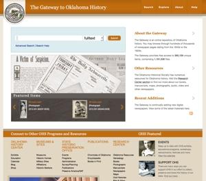 Gateway to Oklahoma History