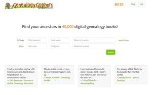 Genealogy Gophers