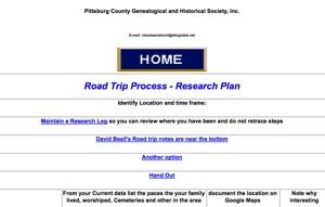 Genealogy Road Trip Checklist