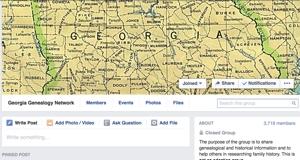 Georgia Genealogy Facebook Group