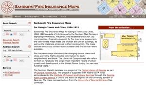 Georgia Sanborn Maps