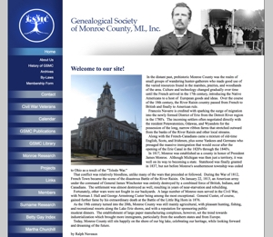 Genealogical Society of Monroe Co, MI