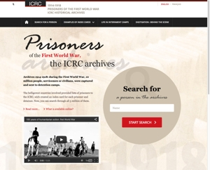 ICRC Archives: Prisoners of the First World War