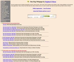 One-Step Webpages by Stephen P. Morse