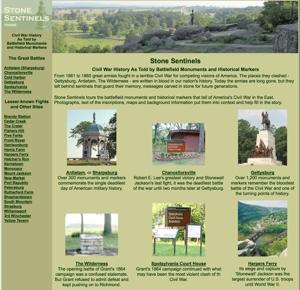 Stone Sentinels: Civil War Markers